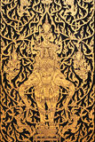 Ancient Thai Art Stock Photo