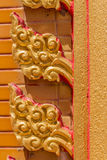 Ancient Thai art. Detail close-up Stock Image