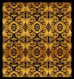 Ancient Thai art, isolated on black background Stock Image