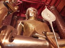 Ancient Thai Buddhas royalty free stock photo