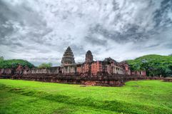 Ancient Thai Castle (HDR) Stock Photo
