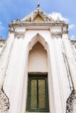 Ancient Thai door Royalty Free Stock Photography