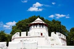Ancient Thai fortress named Pom Maha Kan Royalty Free Stock Photos