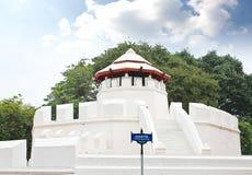 Ancient Thai fortress named Pom Maha Kan in Bangkok Royalty Free Stock Photo