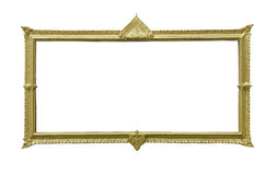 Ancient Thai frame Royalty Free Stock Photo