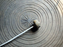Ancient Thai gong. Abstract accessories alarm ancient Stock Photos