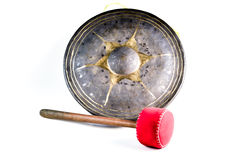Ancient Thai gong Royalty Free Stock Image