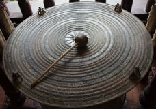 Ancient Thai gong Stock Photo