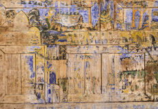Ancient Thai mural painting Stock Photography