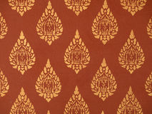 Ancient Thai pattern Royalty Free Stock Photography