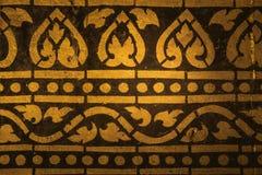 Ancient Thai pattern stock photos