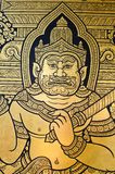 Ancient Thai style art painting Stock Images