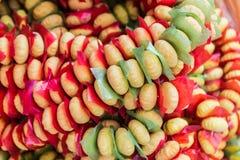 Ancient Thai sweet dessert. Stock Photo