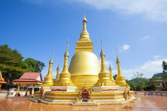 Ancient Thai temple. Stock Photos