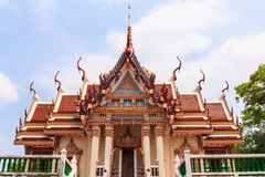 Ancient Thai temple. At Nakronsawan province, Thailand Royalty Free Stock Photography