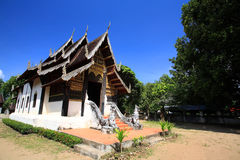 Ancient Thai temple in Northern style Stock Photography
