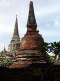 Ancient Thai Temples Royalty Free Stock Photo