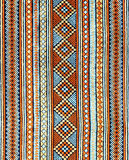 Ancient thai textiles Royalty Free Stock Images