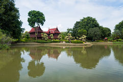 Ancient Thai Village Stock Images