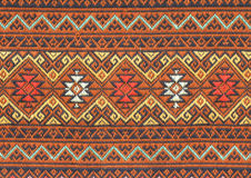 Ancient thai woven cloth Royalty Free Stock Images