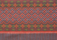 Ancient thai woven cloth. Background Royalty Free Stock Images