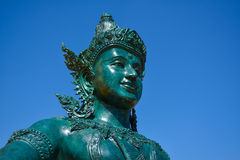 Golden mount of Thailand Stock Image