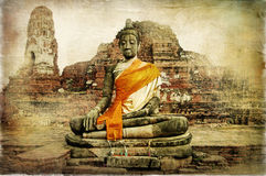 Ancient Thailand Stock Photography