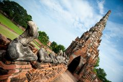 Ancient Thailand temple Stock Photos