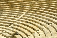 The ancient theater Royalty Free Stock Photo
