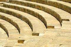 The ancient theater stock image
