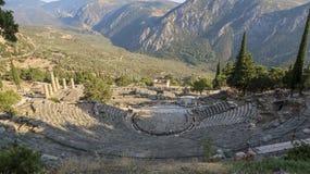 Amphitheater Delphi Greece stock photography