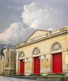 The ancient theater in Bayeux. Royalty Free Stock Images
