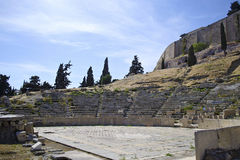 ancient theater of Dionysos Athens Greece Royalty Free Stock Photos