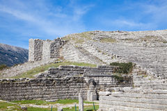The ancient theater at Dodoni Royalty Free Stock Images