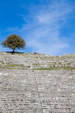 The ancient theater at Dodoni Royalty Free Stock Photography
