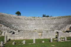 Ancient theater of Dodoni, Greece.  Stock Image