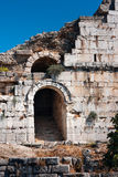 Ancient theater entrance, Miletus Stock Photos