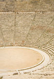 Ancient theater in Epidaurus, Greece. The theater is the largest surviving theater in Greece and marveled for its exceptional acoustics Stock Photos