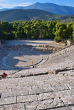 Ancient theater Epidavros, Argolida, Greece Stock Image