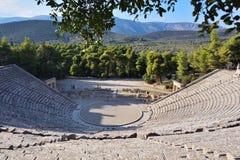 Ancient theater Epidavros, Argolida, Greece Stock Images
