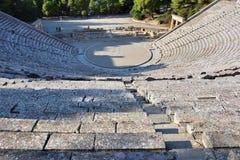 Ancient theater Epidavros, Argolida, Greece Stock Photos