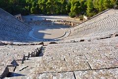 Ancient theater Epidavros, Argolida, Greece Royalty Free Stock Photo