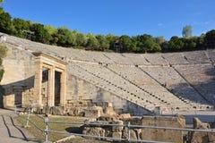 Ancient theater Epidavros, Argolida, Greece Royalty Free Stock Images