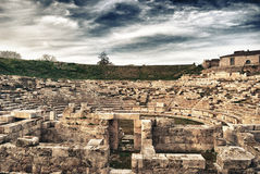Ancient Theater - Greece Stock Images
