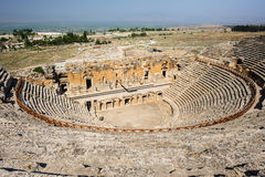 Ancient theater in Hierapolis Royalty Free Stock Photography