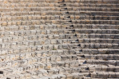 Ancient theater in Kourion, Cyprus Royalty Free Stock Image