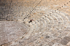 Ancient theater in Kourion, Cyprus Royalty Free Stock Photography