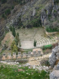 Ancient theater, La Iruela, Andalusia, Spain Royalty Free Stock Photography