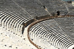 Ancient theater Royalty Free Stock Photos