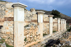 The ancient theater of Philippi Royalty Free Stock Photos